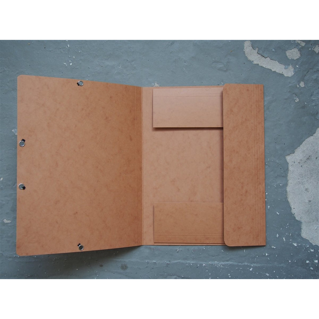 <center>Exacompta Soft Card Folder - 9.5 x 12.5 Tan </center>