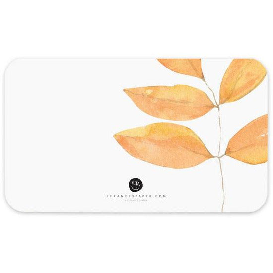 E. Frances Paper - 85 Card Set - Fall Leaves Little Notes