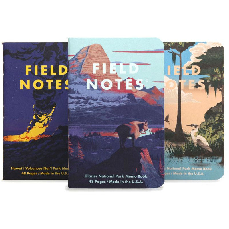 Field Notes - 2020 Summer Limited Edition - National Parks - Series F