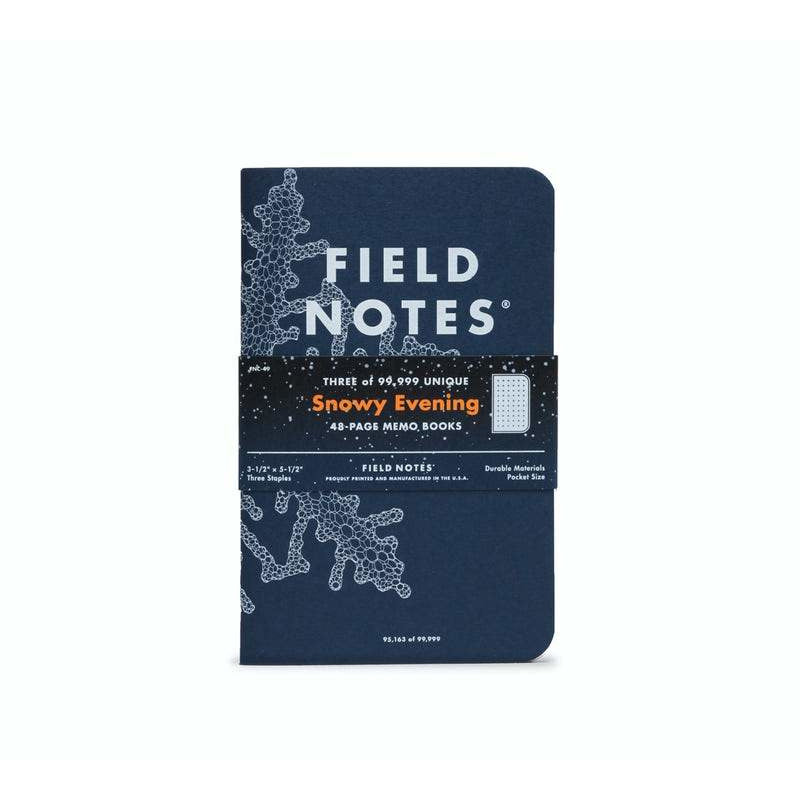 Field Notes - 2020 Winter Limited Edition - Snowy Evening