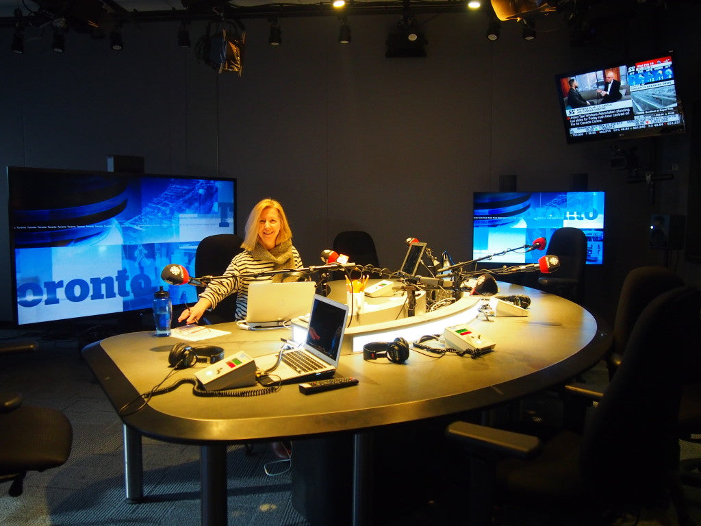 Wonder Pen Visits the CBC to Talk Letter Writing
