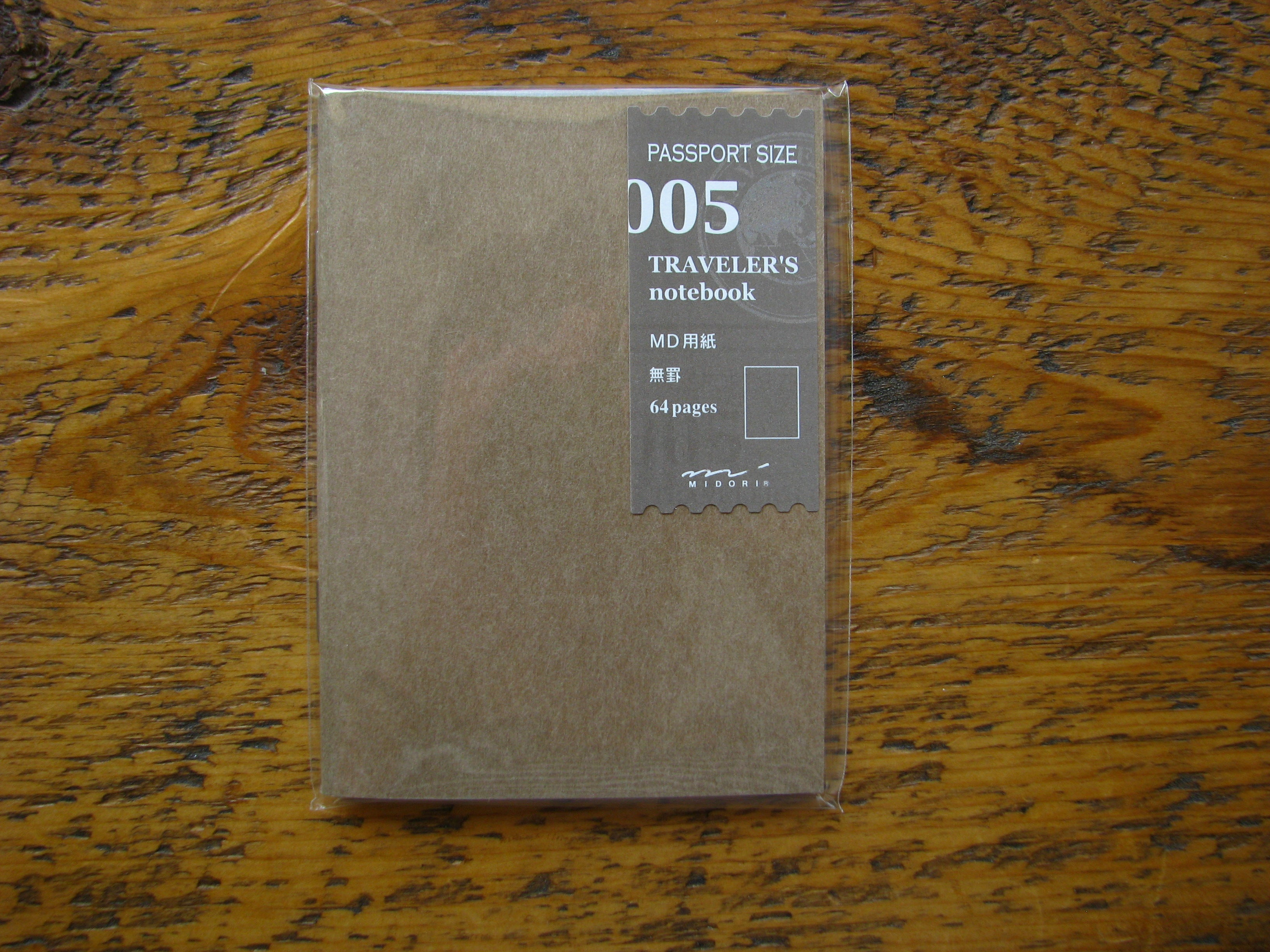 Midori MD Refill for Passport Size Traveler's Notebook 005
