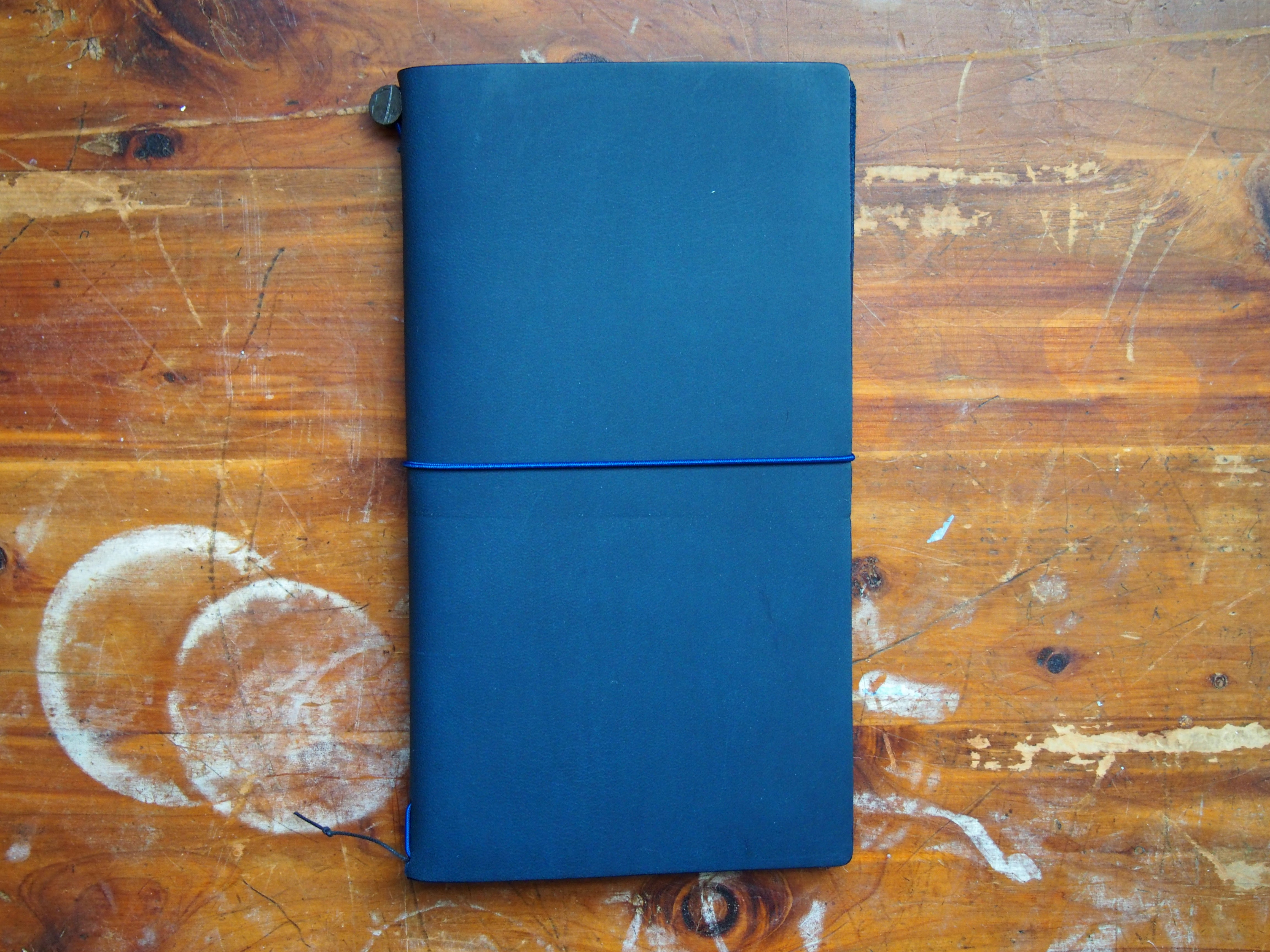 Midori Traveler's Notebook Blue Edition Leather Cover and PanAm Accessories in Toronto, Canada at Wonder Pens wonderpens.ca