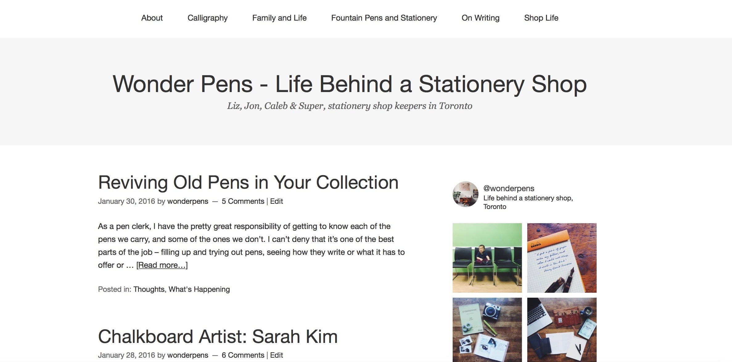 Wonder Pens Blog Life Behind a Stationery Shop