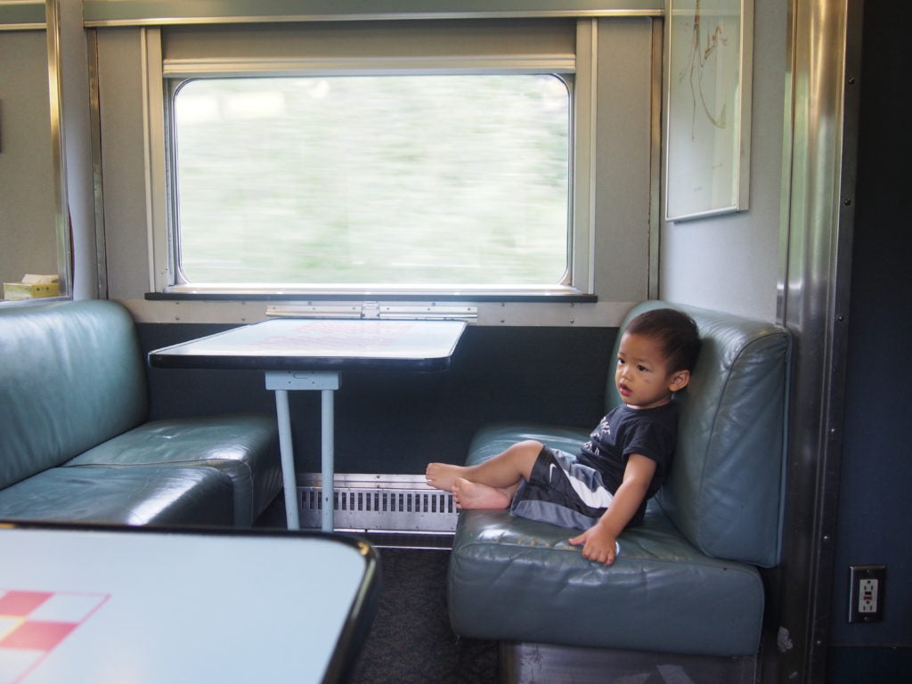 Via Rail Canadian Traveling with Toddler Experience