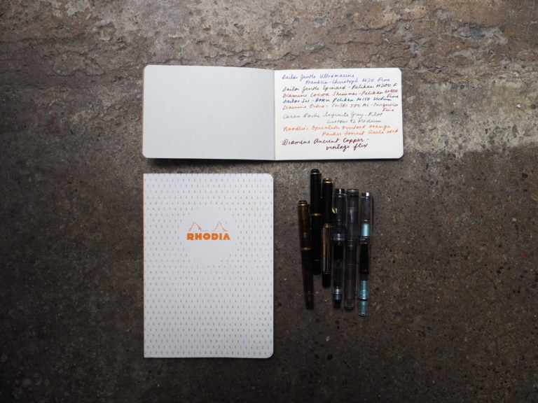 Rhodia Heritage Line Notebooks and Notepads