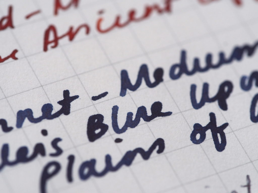 Noodler's Blue Upon the Plains of Abraham Wonder Pens Toronto Canada