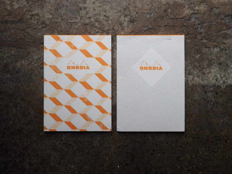Rhodia Heritage Notepads Grid