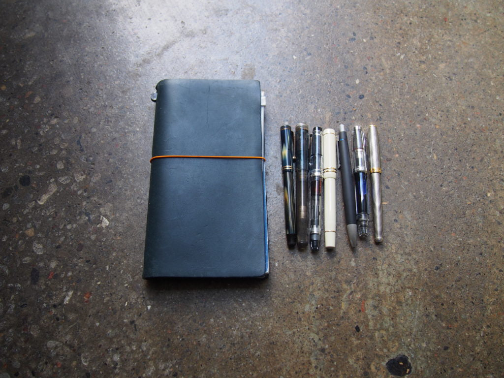 Travel tips for fountain pens