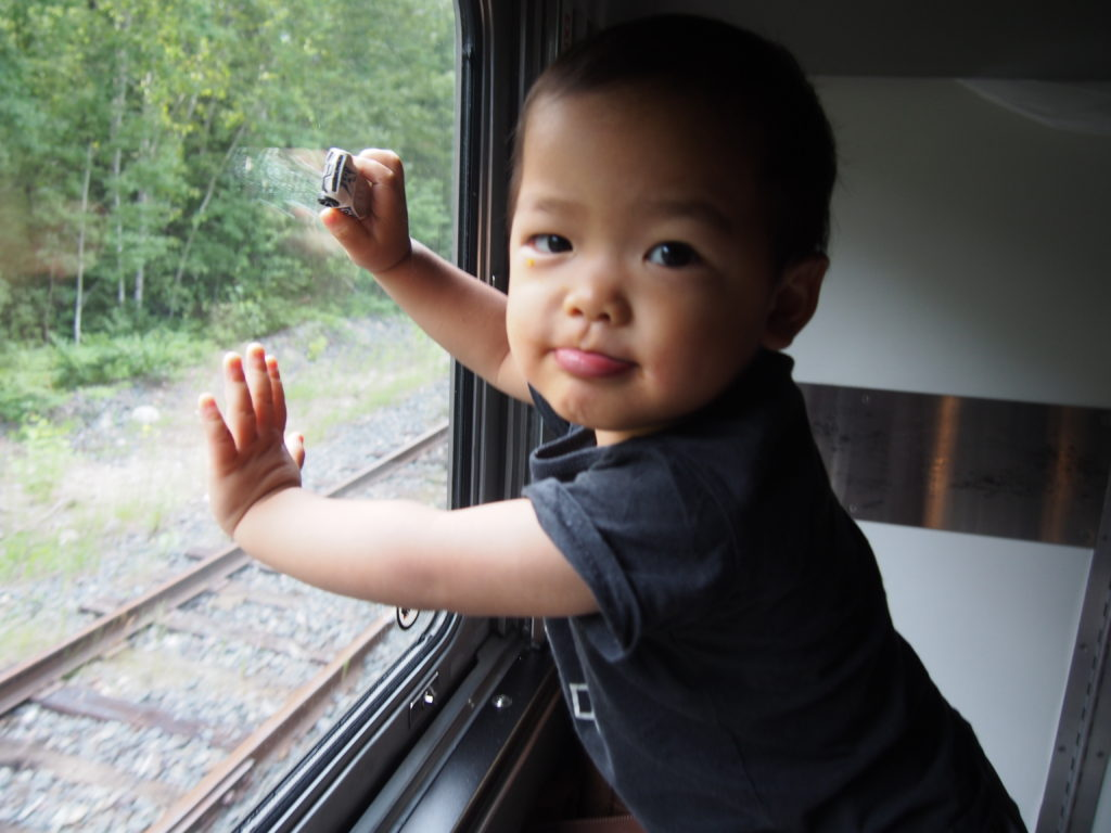Taking the VIA rail with a baby