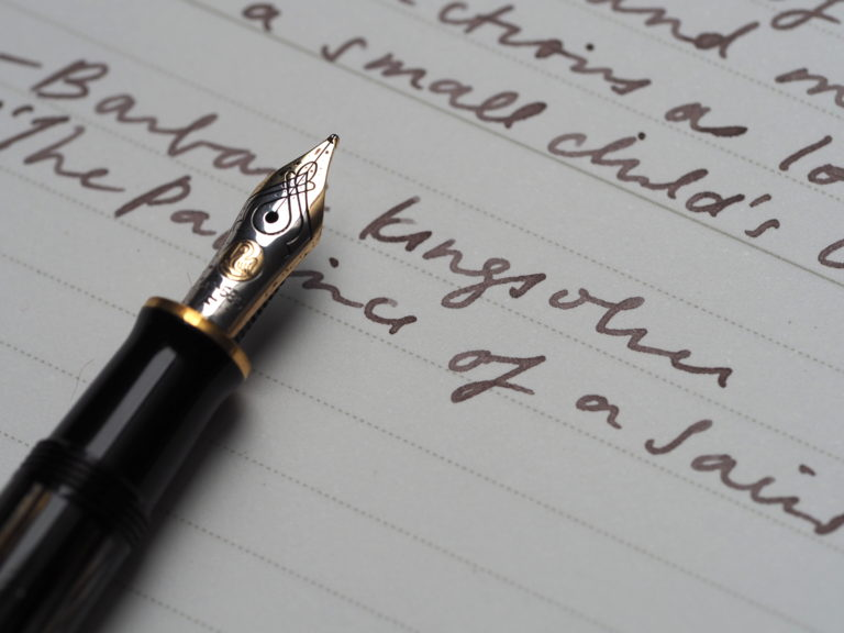 Pelikan M400 Writing Sample Canada