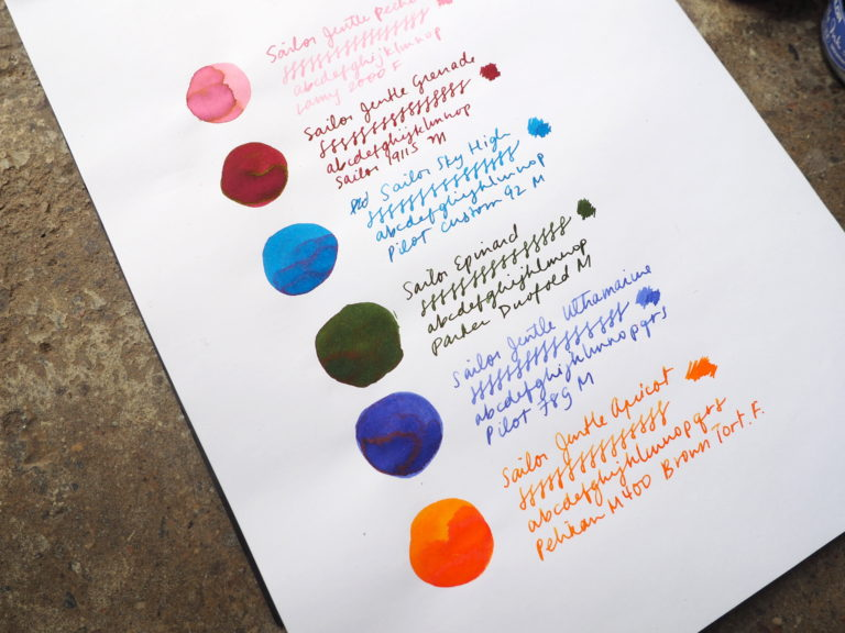 Sailor Jentle Ink Writing Samples