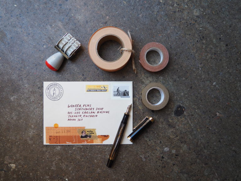 Snail Mail Envelopes and Crafting
