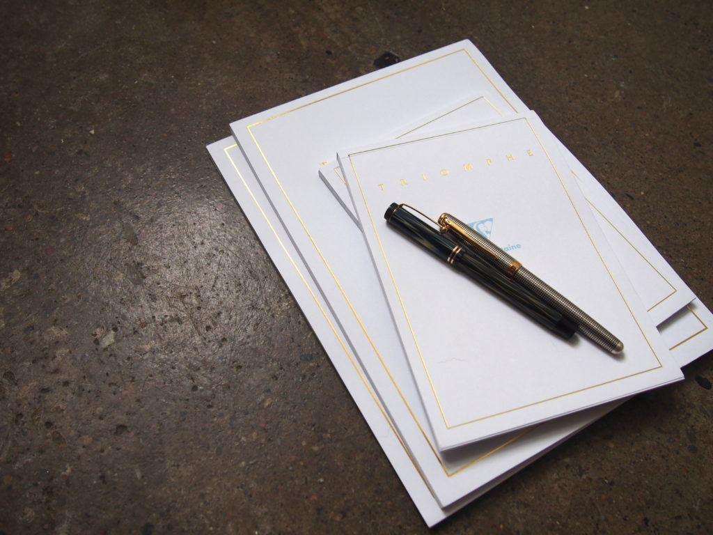 Clairefontaine Triomphe Paper Stationery Toronto Canada