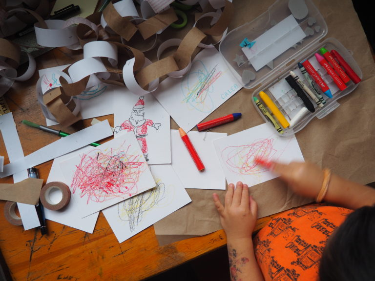 Christmas Cards with Kids