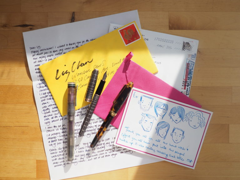 InCoWriMo 2017 Wonder Pens Pen Pal Match Up G Lalo Stationery
