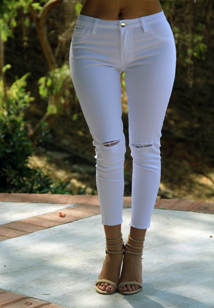 In Style Jeans - White