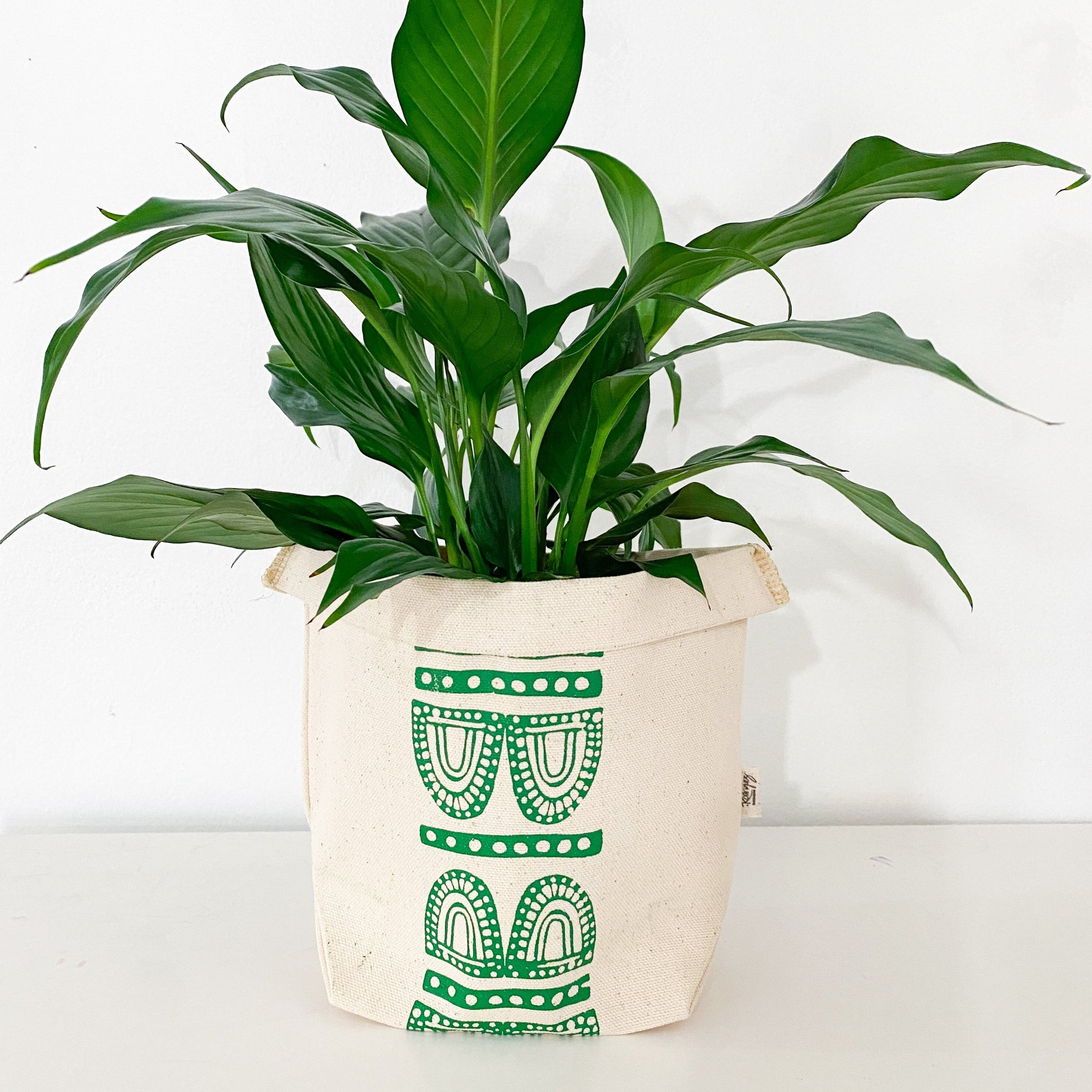 Furu Fabric Plant Pot Cover - 2 sizes