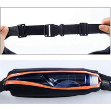 Load image into Gallery viewer, Slim Waist Pocket Belt with 2 Expandable Pockets - 2 Pack