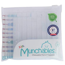 Load image into Gallery viewer, Munchables Chewable Sensory Pencil Toppers - Set of 10 Chewy Tubes