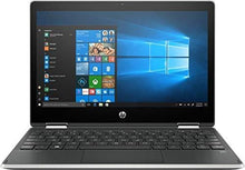 "Load image into Gallery viewer, HP Pavilion X360 2-IN-1 11.6"" HD Touch-Screen WLED-backlit Laptop, Intel Pentium N5000 up to 2.7GHz, 4GB DDR4, 128GB SSD, Bluetooth, Wireless-AC, HDMI, Webcam, USB 3.1-C, Media Card Reader, Windows 10"