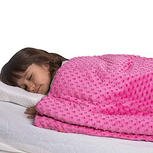 Super Soft 7 Lbs Weighted Blanket for Kids with Removable Cover - 41