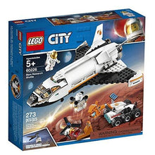 Load image into Gallery viewer, LEGO City Space Mars Research Shuttle 60226 Space Shuttle Toy Building Kit with Mars Rover and Astronaut Minifigures, Top STEM Toy for Boys and Girls (273 Pieces)