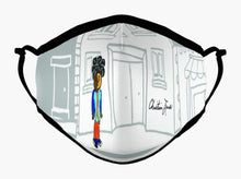 Load image into Gallery viewer, Kids Reusable Filter Mask: Christian James Designs. TM Logo. School Boy