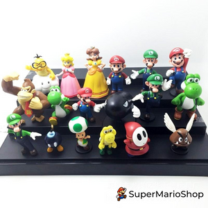 Super Mario Dolls Character Toys - 18 Pieces/Set - SuperMarioShop