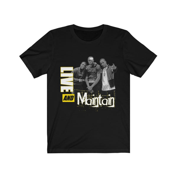 Live & Maintain T-Shirt (Yellow)