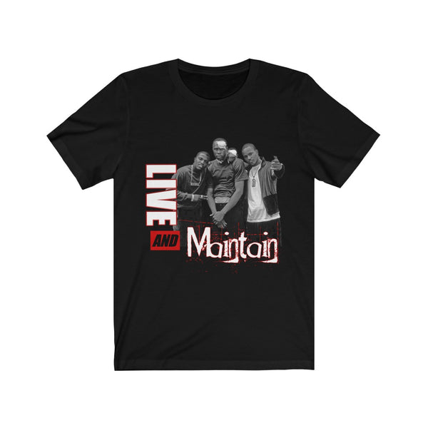 Live & Maintain T-Shirt (Red)