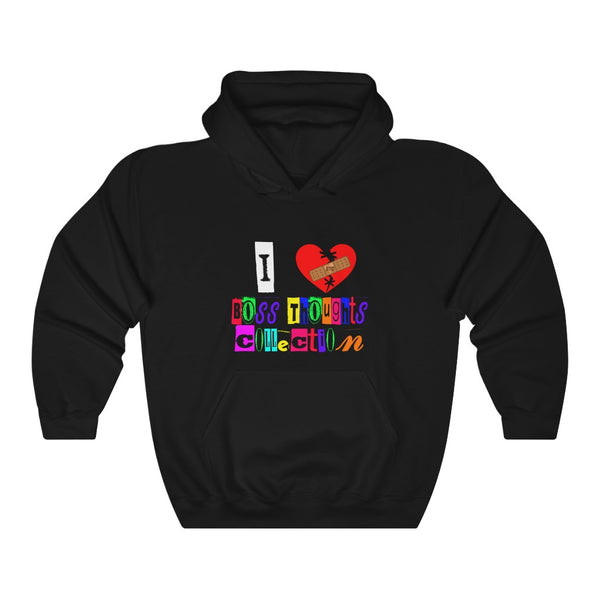 I LOVE BTC Unisex Heavy Blend™ Hooded Sweatshirt