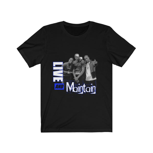 Live & Maintain (Blue) T-Shirt