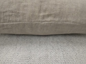 Piper Woven Linen Cushion