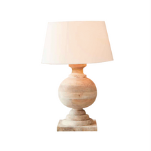 Load image into Gallery viewer, Coach Wood - Table Lamp+Cocky Shade