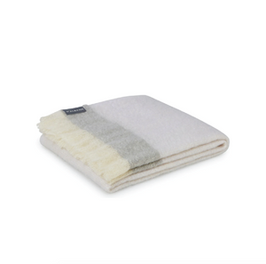 Mohair Throw -  Mineral