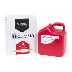 2 Gallon Sharps Recovery System return by USPS