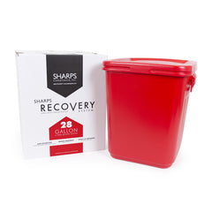 28 Gallon Medical Professional Sharps Recovery System return by USPS