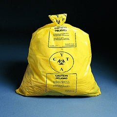 Chemo Waste Bag Yellow 31 X 41 Inch 30-33 gallon