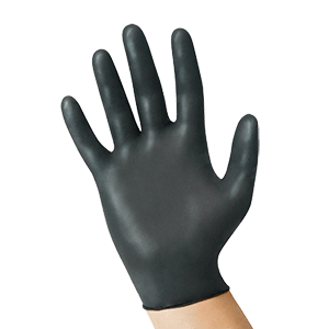 Uniseal® Nitrile Exam Gloves – BlackSeal Powder-Free 10/100 TOTAL 1000