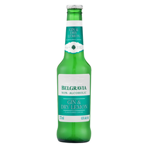 Belgravia Gin & Dry Lemon (6 x 275ml)