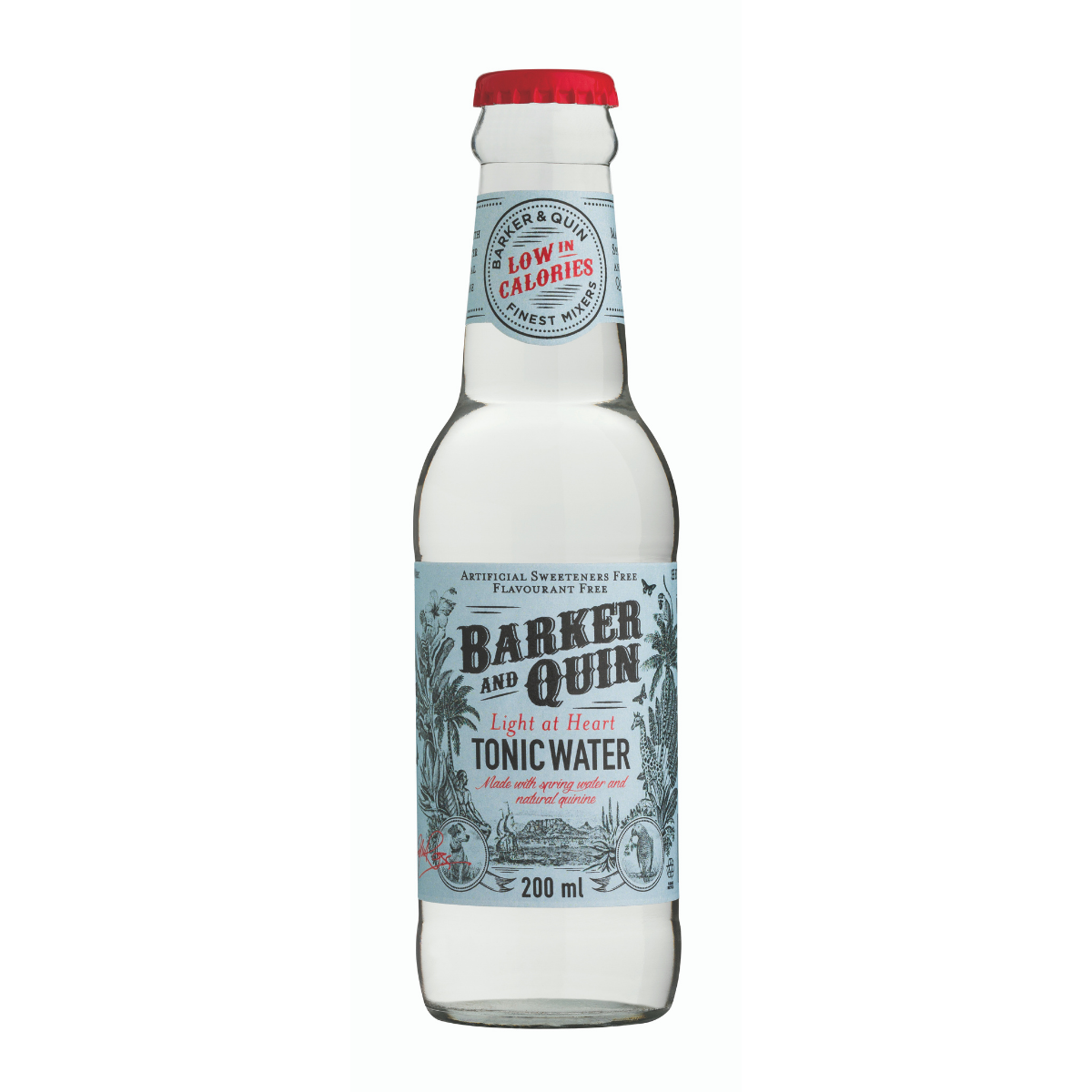 Barker and Quin Light at Heart Tonic (4 x 200ml)