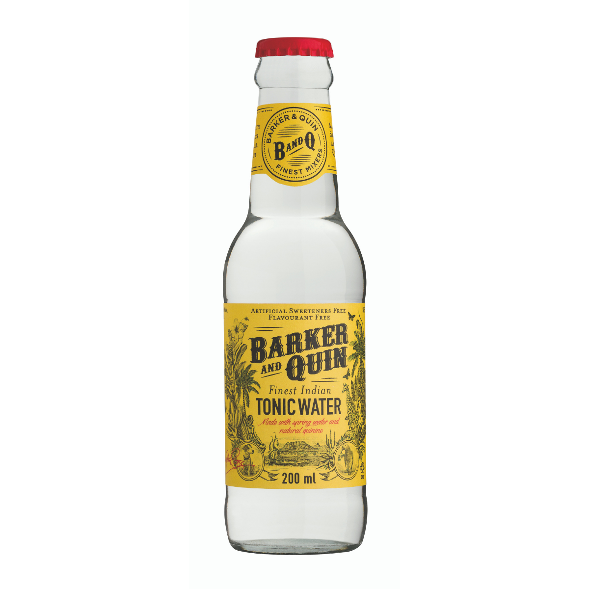 Barker and Quin Indian Tonic (4 x 200ml)