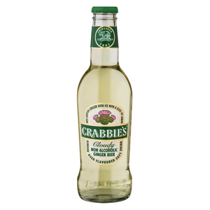 Crabbie's Cloudy Ginger Beer (6 x 275ml)