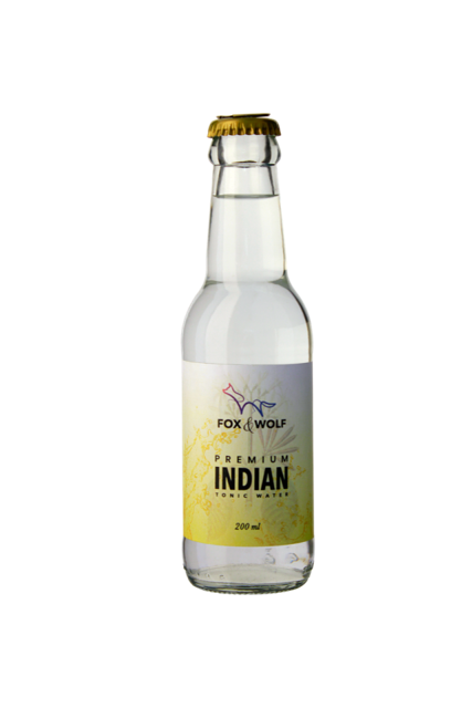 Fox and Wolf Indian Tonic (4 x 200ml)