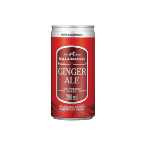 Hall & Bramley Ginger Ale (6 x 200ml)