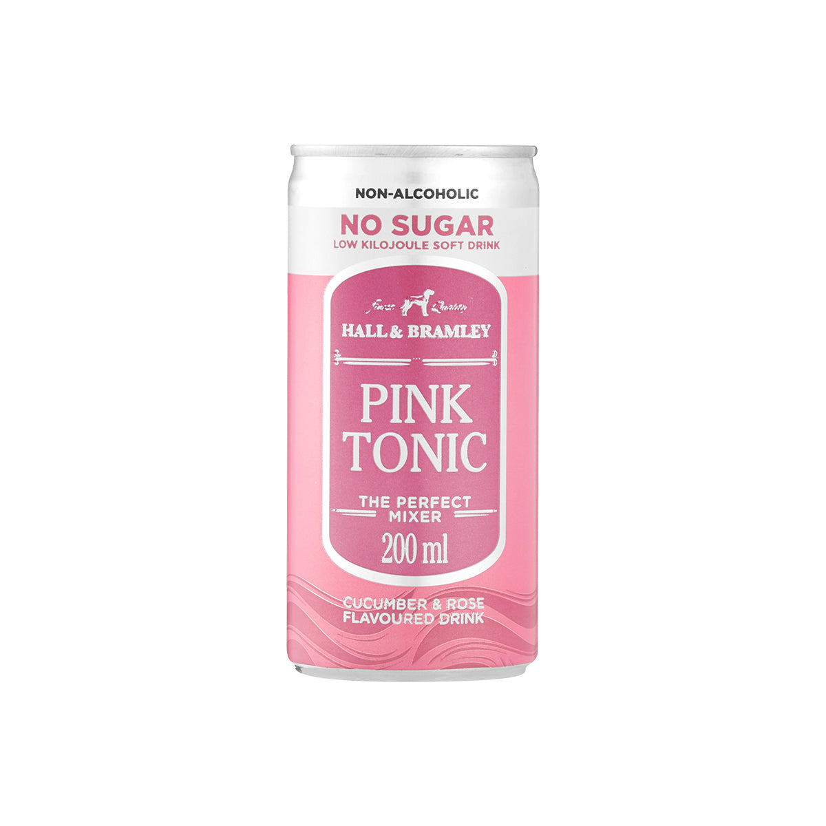 Hall & Bramley No Sugar Pink Tonic (6 x 200ml)