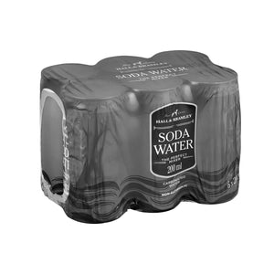 Hall & Bramley Soda Water (6 x 200ml)