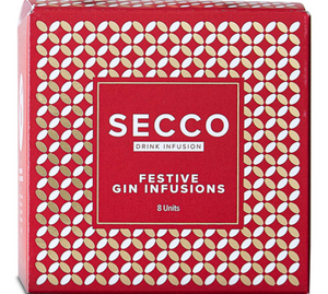 Secco Mixed Festive Infusion Box (1 x 8 mixed sachet pack)