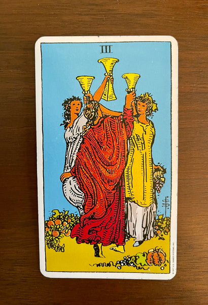 Card of the Day: Feb. 18, 2021 — Three of Cups